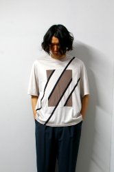 ETHOSENS(エトセンス)/Switching T-shirt/Gureju × Mocha