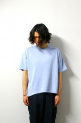 URU(ウル)/WASHI OVER S/S TEE/L.Blue