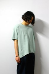 URU(ウル)/WASHI OVER S/S TEE/Mint