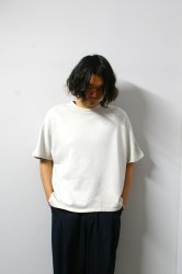 URU(ウル)/WASHI OVER S/S TEE/L.Beige