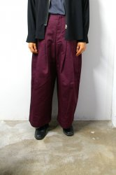 SHINYAKOZUKA(シンヤコズカ)/BAGGY with Dickies/Maroon