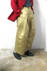 SHINYAKOZUKA(シンヤコズカ)/BAGGY with Dickies/Beige