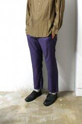 URU(ウル)/COTTON CUPRA EASY PANTS/Purple