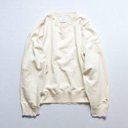 stein(シュタイン)/OVERSIZED REBUILD SWEAT LS/Off white
