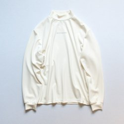 stein(シュタイン)/OVERSIZED HIGH NECK LS/White
