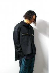 SHINYAKOZUKA(シンヤコズカ)/WORK SHIRTISH JACKET/Black