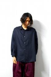 SHINYAKOZUKA(シンヤコズカ)/CLASSIC SHIRT/Midnight