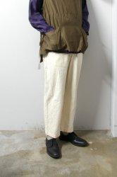URU(ウル)/COTTON BAGGY PANTS/Natural