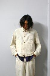 URU(ウル)/COTTON JACKET/Natural