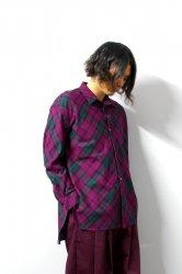 SHINYAKOZUKA(シンヤコズカ)/CLASSIC SHIRT/Purple