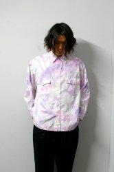 URU(ウル)/WESTERN SHIRTS(TYPE B)/Tye dye