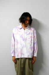 URU(ウル)/HALF ZIP SHIRTS(TYPE B)/Tye dye