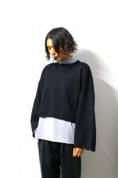 stein(シュタイン)/EX SLEEVE KNIT LS/Black