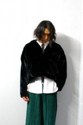 LIBERUM(リベルム)/Anorak fur hoodie/Black