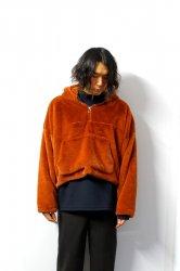 LIBERUM(リベルム)/Anorak fur hoodie/Orange