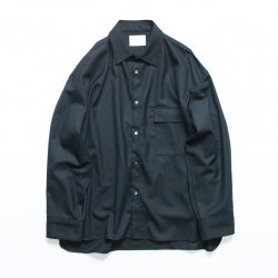 stein(シュタイン)/OVERSIZED DOWN PAT SHIRT/Black