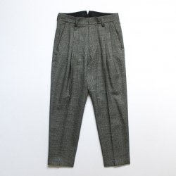 stein(シュタイン)/TWO TUCK WIDE TROUSERS/Glen check