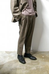 stein(シュタイン)/TWO TUCK WIDE TROUSERS/Window pen