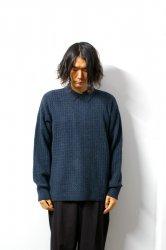 URU(ウル)/KNIT POLO SHIRT(TYPE B)/Viridian