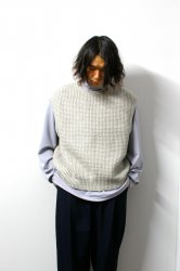URU(ウル)/KNIT VEST(TYPE A)/L.Gray