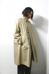 URU(ウル)/COTTON BALMACAAN COAT/Beige