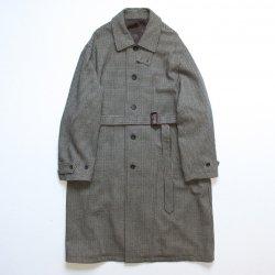 stein(シュタイン)/OVER SLEEVE INVESTIGATED COAT/Gun club check
