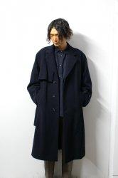 stein(シュタイン)/LAY CHESTER COAT/Dark navy