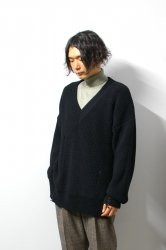 LIBERUM(リベルム)/Damage over knit/Black