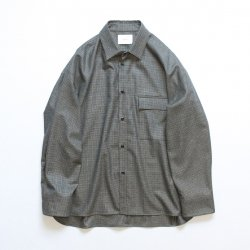 stein(シュタイン)/OVERSIZED DOWN PAT SHIRT/Gun club check