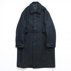 stein(シュタイン)/OVER SLEEVE INVESTIGATED COAT/Black