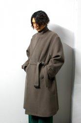 stein(シュタイン)/OVERSIZED LESS COAT/K.Gray