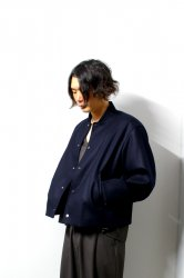 URU(ウル)/WOOL STADIUM JACKET/D.Navy