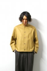 URU(ウル)/WOOL STADIUM JACKET/Camel
