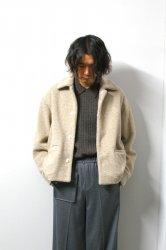 URU(ウル)/WOOL BOA BLOUSON/Ivory