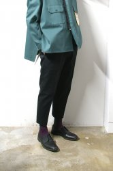 SHINYAKOZUKA(シンヤコズカ)/WORK TROUSERS with Dickies/Black
