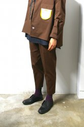 SHINYAKOZUKA(シンヤコズカ)/WORK TROUSERS with Dickies/Choco