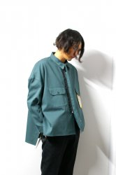 SHINYAKOZUKA(シンヤコズカ)/WORK SHIRT-ISH JACKET with Dickies/Jade