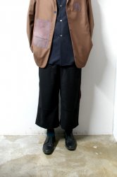 SHINYAKOZUKA(シンヤコズカ)/WALK TROUSERS/Black