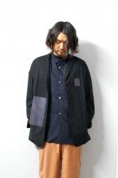 SHINYAKOZUKA(シンヤコズカ)/ANONYMOUS JACKET/Black