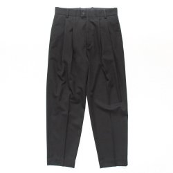 stein(シュタイン)/WIDE TROUSERS_A/Black