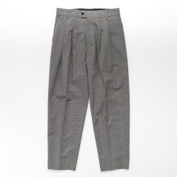 stein(シュタイン)/WIDE TROUSERS_A/Glen check