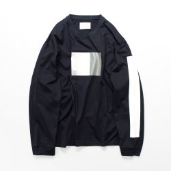 stein(シュタイン)/OVERSIZED LONG SLEEVE TEE - TO COMPLETE -/Dark navy