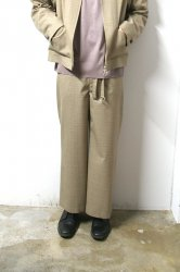 URU(ウル)/WIDE PANTS/L.Brown