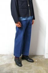 URU(ウル)/STRAIGHT WIDE PANTS/Indigo