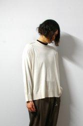 URU(ウル)/CREW NECK L/S KNIT/L.Beige