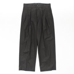 stein(シュタイン)/WIDE STRAIGHT TROUSERS/Black