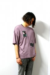 LIBERUM(リベルム)/MACHINE PRINT TEE/Purple
