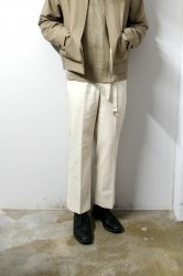 URU(ウル)/STRAIGHT PANTS/L.Beige