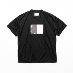 stein(シュタイン)/PRINT TEE - TO COMPLETE -/Black