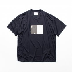 stein(シュタイン)/PRINT TEE - TO COMPLETE -/Dark navy